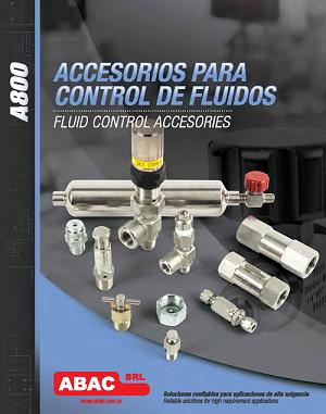 Accesorios para control y fluidos
