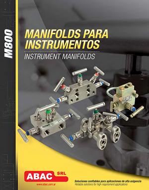 Manifolds para instrumentación