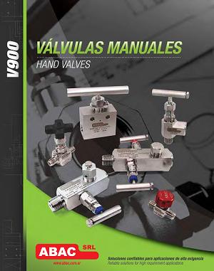 Válvulas Manuales